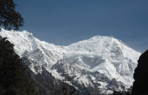 View of Langtang Himal