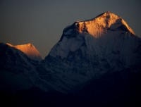 Sunrise at Mt. Dhaulagiri