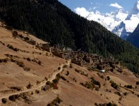 Ghyaru village view
