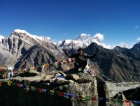 Top of the Gokyo Ri