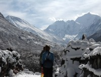 Himalaya in Langtang Valley Trek