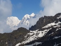Glimpse of Makalu region