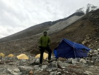 Overnight at Island Peak Base Camp