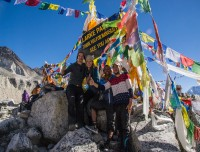 Larke La at Manaslu Circuit Trek