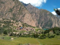 Phoksundo Village and surroundings