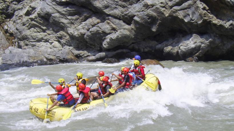 A day white water Rafting