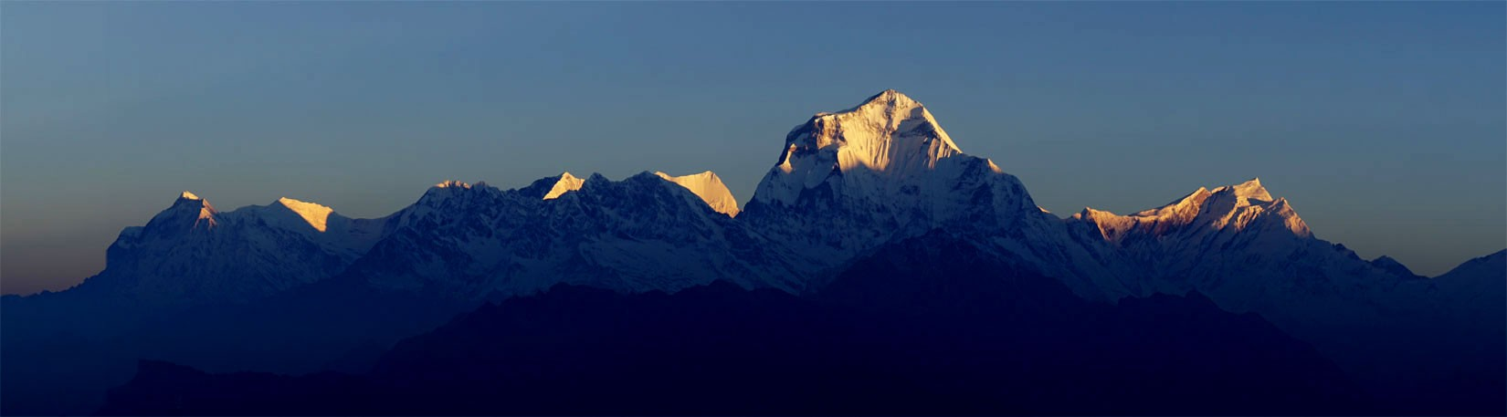 Dhaulagiri View From Poon Hill Trek