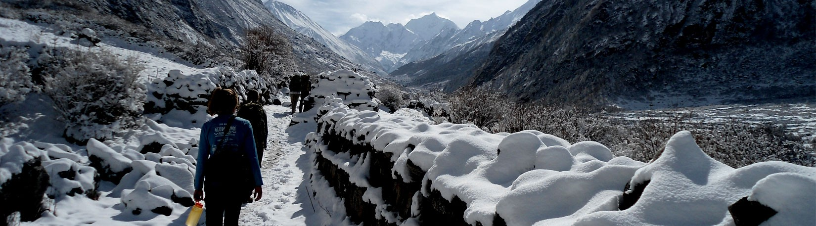 View From Langtang Village