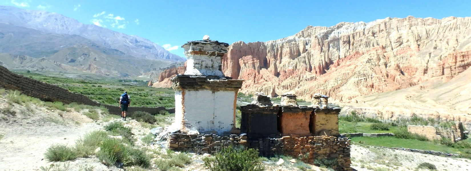 Glimpse of Upper Mustang