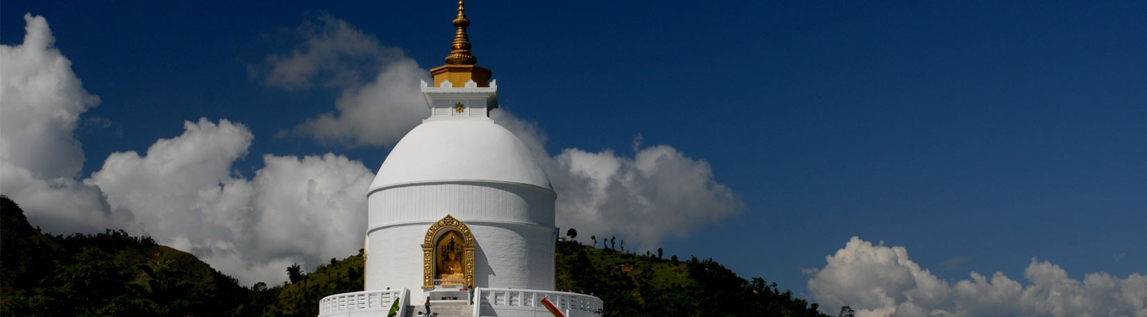 Peace Stupa at Pokhara