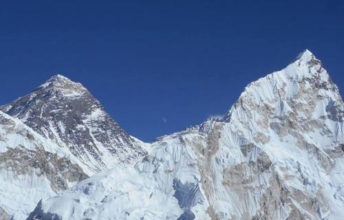View of Mt. Everest
