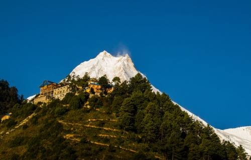 Manaslu Circuit Trek via Upper Route